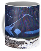 Moraine Lake Lens Flare Coffee Mug