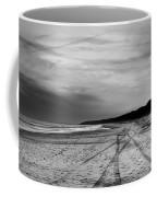 More Beach Tracks Coffee Mug