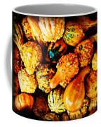 More Beautiful Gourds - Heralds Of Fall Coffee Mug