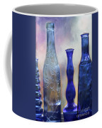 More Cobalt Blue Bottles Coffee Mug