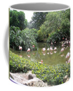 More Pink Flamingos Coffee Mug