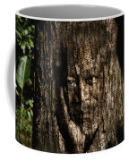 Morgan Freeman Roots Digital Painting Coffee Mug by Georgeta Blanaru