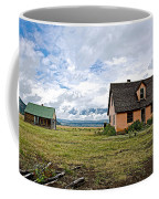 Mormon Row Historic District In Grand Tetons National Park-wyoming Coffee Mug