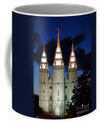 Mormon Temple Lds Utah Coffee Mug