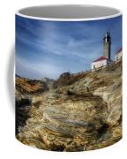 Morning At Beavertail Lighthouse Coffee Mug
