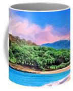 Morning At Papohaku Beach  Coffee Mug