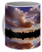 Morning At The Reservoir New York City Usa Coffee Mug