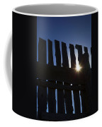 Morning Fence Coffee Mug