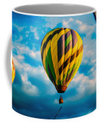 Morning Flight Hot Air Balloons Coffee Mug