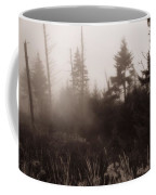 Morning Fog In The Smoky Mountains Coffee Mug by Dan Sproul