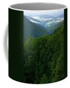 Morning Fog On Blue Ridge Coffee Mug
