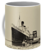 Morning Fog Russian Sub And Queen Mary Heirloom Coffee Mug