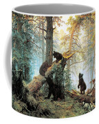 Morning In A Pine Forest Coffee Mug by Ivan Shishkin