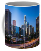 Morning In Los Angeles Coffee Mug by Inge Johnsson
