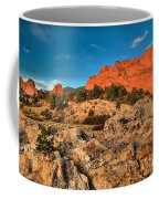 Morning Light At Garden Of The Gods Coffee Mug