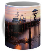 Morning Light At Port Angeles Coffee Mug
