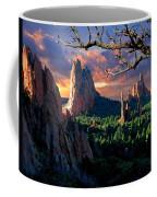 Morning Light At The Garden Of The Gods Coffee Mug