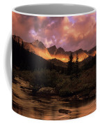 Morning Light Maligne Pass Coffee Mug