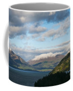 Morning Light On Lake Wakatipu And The Mountains Coffee Mug