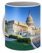Powerful - Washington Dc Morning Light On Us Capitol Coffee Mug