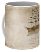 Morning Mist In Sepia Coffee Mug by John Edwards