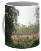 Morning Mist In The Pasture Coffee Mug