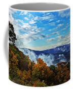 Morning Mist On An Autumn Morning Coffee Mug