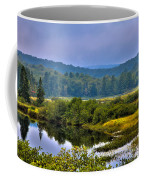 Morning Mist On The Moose River Coffee Mug by David Patterson