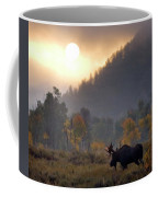 Morning Moose Coffee Mug