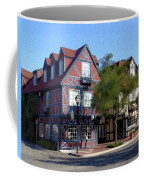 Morning On 2nd Street Solvang California Coffee Mug