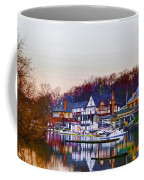 Morning On Boathouse Row Coffee Mug