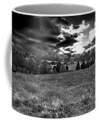 Morning On The Farm Two Bw Coffee Mug