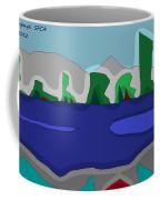 Morning On The Fraser River Near Maple Ridge Coffee Mug
