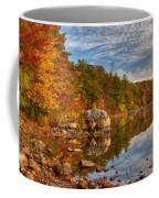 Morning Reflection Of Fall Colors Coffee Mug