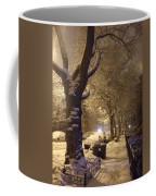 Morning Snow Coffee Mug