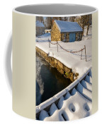 Morning Snow Coffee Mug