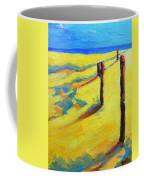Morning Sun At The Beach Coffee Mug