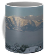 Morning Sun On Utah Mountains Coffee Mug