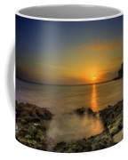 Morning Sun Rising In The Grand Caymans Coffee Mug by Dan Friend