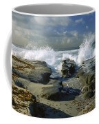 Morning Tide In La Jolla Coffee Mug by Sandra Bronstein