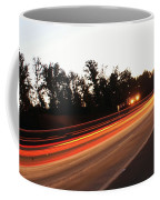 Morning Traffic On Highway Coffee Mug