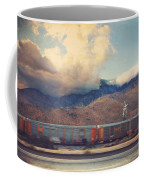 Morning Train Coffee Mug by Laurie Search