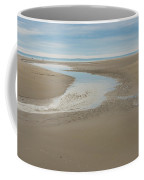 Morning Walk At Crane Beach Coffee Mug