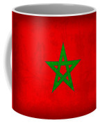 Morocco Flag Vintage Distressed Finish Coffee Mug