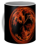 Morphed Art Globe 37 Coffee Mug by Rhonda Barrett
