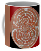 Morphed Art Globes 17 Coffee Mug by Rhonda Barrett