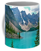Morraine Lake In Banff Np-alberta Coffee Mug