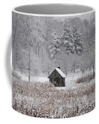 Morris Arboretum Mill In Winter Coffee Mug