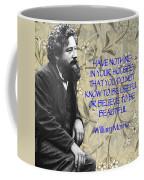 Morris Quotation About Art Coffee Mug