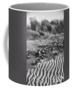 Morro Beach Textures Bw Coffee Mug